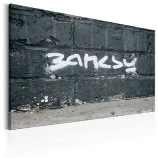 Πίνακας - Banksy Signature