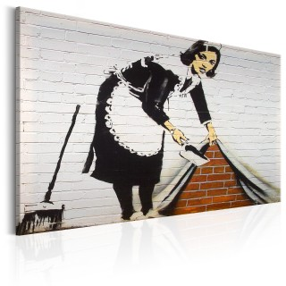 Πίνακας - Maid in London by Banksy