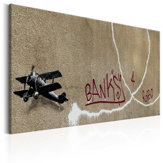 Πίνακας - Love Plane by Banksy