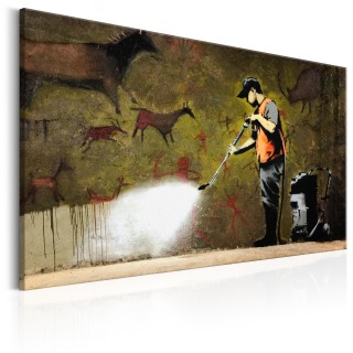 Πίνακας - Cave Painting by Banksy
