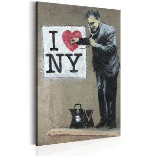 Πίνακας - I Love New York by Banksy