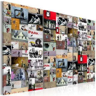 Πίνακας - Art of Collage: Banksy III