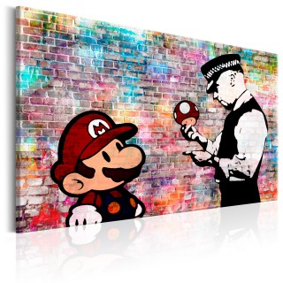Πίνακας - Banksy: Colourful Brick
