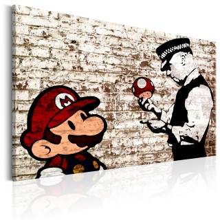 Πίνακας - Banksy: Torn Wall