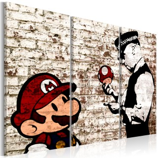 Πίνακας - Mario Bros: Torn Wall
