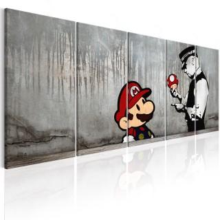 Πίνακας - Mario Bros on Concrete