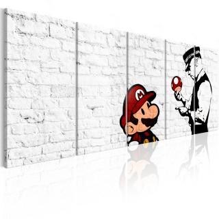 Πίνακας - Graffiti on Brick