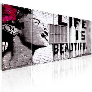 Πίνακας - Banksy: Life is Beautiful