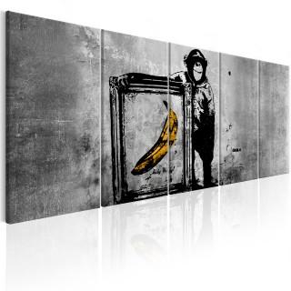 Πίνακας - Banksy: Monkey with Frame