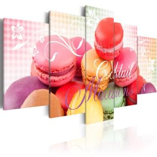Πίνακας - Sweet macarons