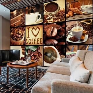 Φωτοταπετσαρία - Coffee - Collage