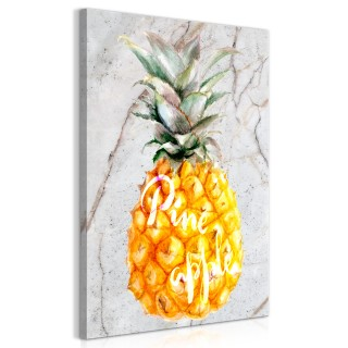 Πίνακας - Pineapple and Marble (1 Part) Vertical