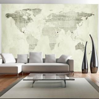 Αυτοκόλλητη φωτοταπετσαρία - Green continents
