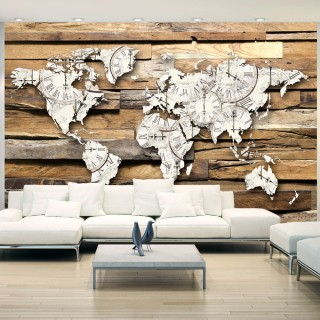 Αυτοκόλλητη φωτοταπετσαρία - Map of Time