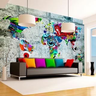 Φωτοταπετσαρία - Map - Graffiti