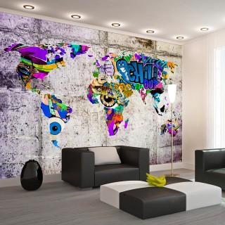 Αυτοκόλλητη φωτοταπετσαρία - Across Colorful World