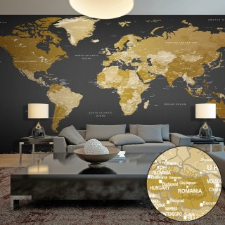 Ταπετσαρία XXL - World Map: Modern Geography II