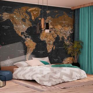 Φωτοταπετσαρία - World: Stylish Map