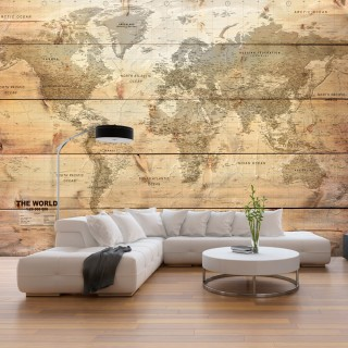 Φωτοταπετσαρία - Map on Boards