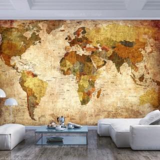 Φωτοταπετσαρία - Old World Map
