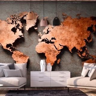 Φωτοταπετσαρία - Copper Map