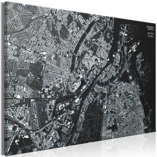 Πίνακας - Close up of Copenhagen (1 Part) Wide