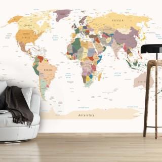 Φωτοταπετσαρία - World Map