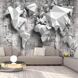 Φωτοταπετσαρία - World Map: Origami