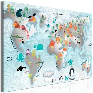 Πίνακας - Fairytale Map (1 Part) Wide