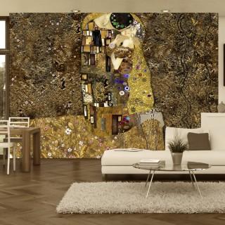 Φωτοταπετσαρία - Klimt inspiration: Golden Kiss