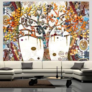 Αυτοκόλλητη φωτοταπετσαρία - Decorated Tree