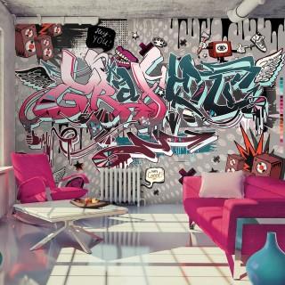 Φωτοταπετσαρία - Graffiti: hey You!