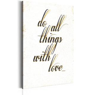 Πίνακας - My Home: Things with love