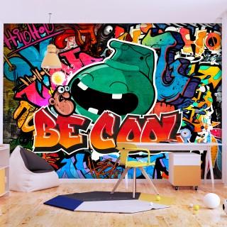 Αυτοκόλλητη φωτοταπετσαρία - Be Cool
