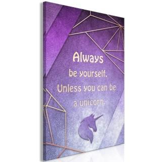 Πίνακας - Be Yourself (1 Part) Vertical