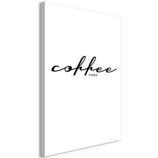 Πίνακας - Coffee Times (1 Part) Vertical