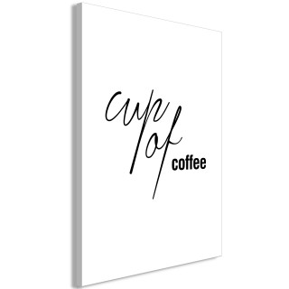 Πίνακας - Cup of Coffee (1 Part) Vertical