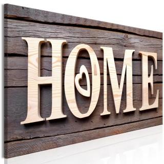 Πίνακας - Wooden Home (1 Part) Narrow