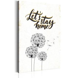 Πίνακας - My Home: Let's stay home