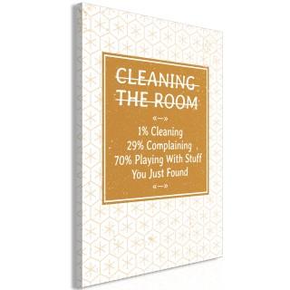 Πίνακας - Cleaning Room (1 Part) Vertical