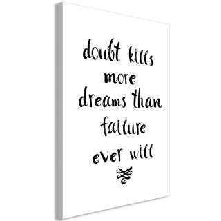 Πίνακας - Doubts and Dreams (1 Part) Vertical