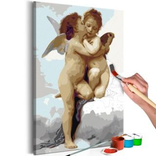 Πίνακας για να τον ζωγραφίζεις - Angels (Love)