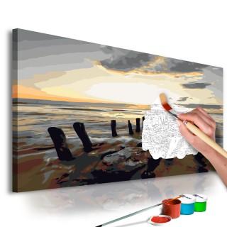 Πίνακας για να τον ζωγραφίζεις - Beach (Sunrise)