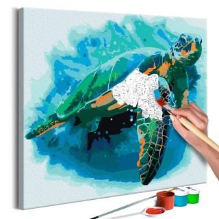 Πίνακας για να τον ζωγραφίζεις - Turtle