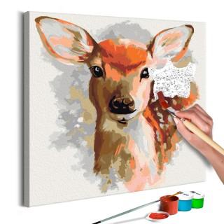 Πίνακας για να τον ζωγραφίζεις - Charming Fawn