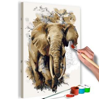 Πίνακας για να τον ζωγραφίζεις - Beautiful Giant