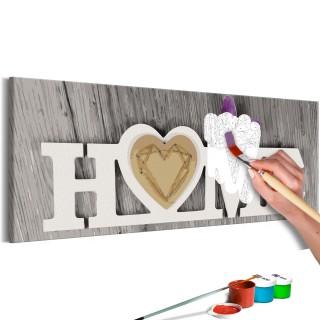 Πίνακας για να τον ζωγραφίζεις - Home and Butterfly