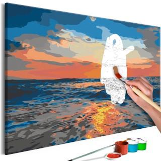 Πίνακας για να τον ζωγραφίζεις - At Sea