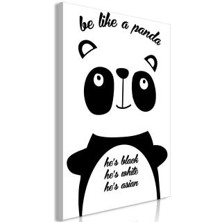Πίνακας - Be Like a Panda (1 Part) Vertical