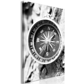 Πίνακας - Black and White Compass (1 Part) Vertical